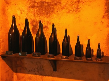 "Inside the Taittinger caves, ""I'll take three of the large bottle please""!"