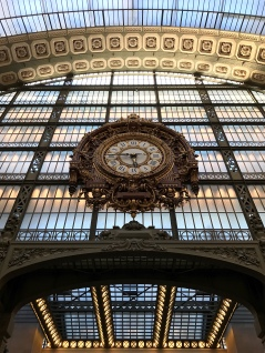 Can you believe that the Musée d'Orsay was built inside a train station? The ornate clock reminds me that history always finds its way back into the present.
