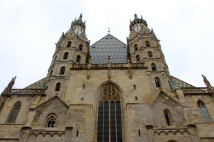 St. Stephen's Cathedral is the symbol of Vienna. Construction commenced in the 12th century. Today, it is one of the most important Gothic structures in Austria.