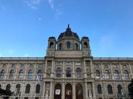 Exterior of Kunsthistorisches Museum.