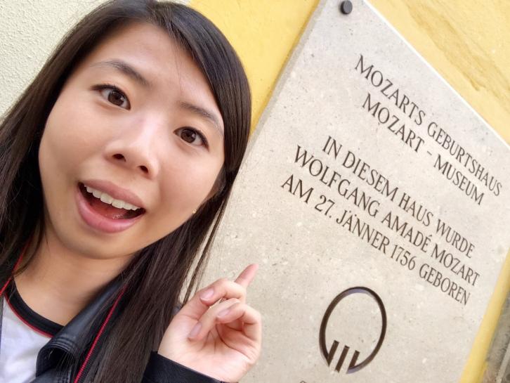 Mozart's biggest fangirl.